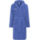 arena Zodiaco Bathrobe royal-metallic silver